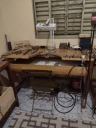 Oficina completa para fabricação de jóias