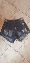 Shorts Jeans tam 36 nunca usado