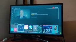 Smart TV Samsung 32 + Home Theater LG 5.1