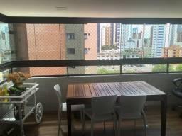 Apartamento todo mobiliado à venda no Aeroclube Bessa, 4 suítes!
