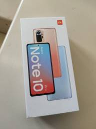 Celular Xiaomi Redmi Note 10 PRO 8GB + 128GB Onyx Gray