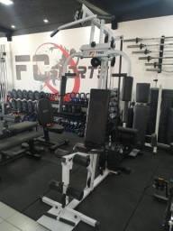 Estação Multifuncional de Musculação - Semi-Nova