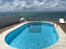 Apartamento com 4 dormitórios à venda, 240 m² por R$ 850.000,00 - Camboinha - Cabedelo/PB