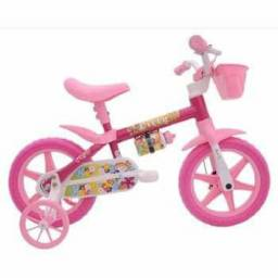 Bicicleta rosa infantil nova