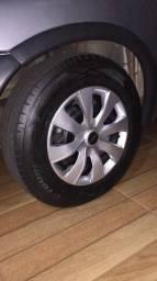 Troco roda 13 com pneus por roda aro 15 com pneus