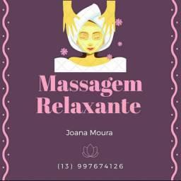 Massoterapia relaxante