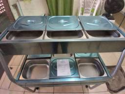 Self-service - quente/frio 6 bojos R$ 1.390,00