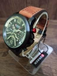 Relógio CURREN (C/ Cronógrafo) Marrom