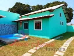 Linda casa a venda em Unamar, Cabo Frio, 2 quartos com piscina e área gourmet