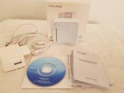 Roteador Portátil Tp-link Tl-mr3020 Sem Fio Wifi - Como Novo