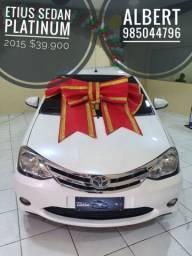 Etius sedan Platinum 2015 completo