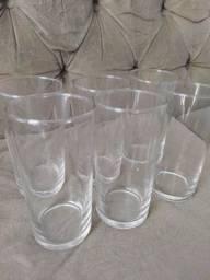 Kit 6 copos de vidro