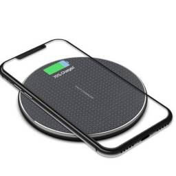 Carregador celular sem fio Qi fast charger