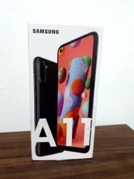 Samsung Galaxy A11 64GB Preto Novo