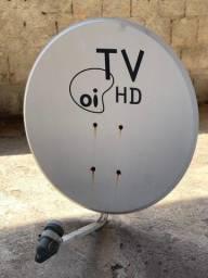 Antena TV hd Oi Sky Claro 60cm + Lnb