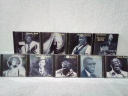 9 CDs Da Coleção Altaya S.A Mestres do Blues Originais Internacionais