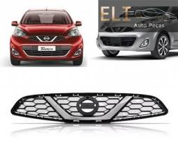 Título do anúncio: Grade Nissan Marsh Sl Cvt Cromada 2014 2015 2016 2017 2018 Original