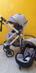 PRODUTO NOVO Carrinho de bebê 3 em 1 com garantia