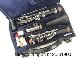 Clarinete Buffet crampon B12 resina...