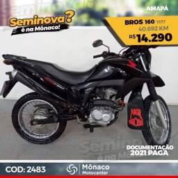 Honda NXR Bros 160 17/17- Seminovos Mônaco