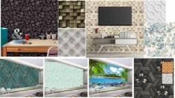 Adesivos e papel de paredes
