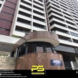 Apartamento com 4 dormitórios à venda, 274 m² por R$ 950.000 - Miramar - João Pessoa/PB