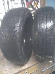 Vendo dois pneus  235/60 R18 semi novo