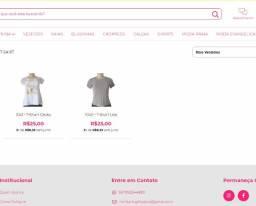 Lote, Atacado de T-Shirt com 4 peças devido a fechamento de Loja Online Migles.com.br