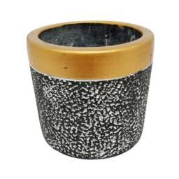 Vaso de cimento dimensão 8x7cm