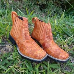 Botina Escamada para Rodeios e Cavalgadas - Fabricação própria