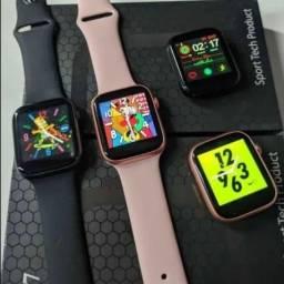 Smartwatch x7 Recebe e faz ligação foto da galeria rede social