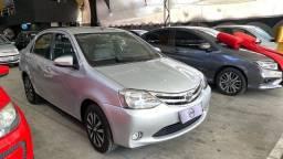 Toyota Etios 1.5 platinum flex  2016 ( único dono )