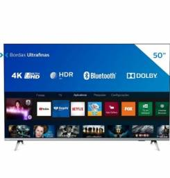 Tv Philips 50 4k Nova na Caixa 1 ano de garantia