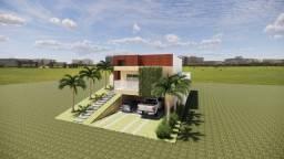 Casa em construção no Alphaville Pernambuco 2 com ótima vista