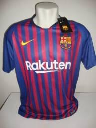 Camisa Barcelona Nike 2018/19 #10 Messi
