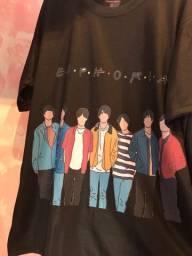 Camisa kpop bts preta
