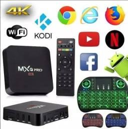 Smart Tv Box S905w ( o mais recente) 8gb Ram 64gb A.P.E.N A.S 149,00