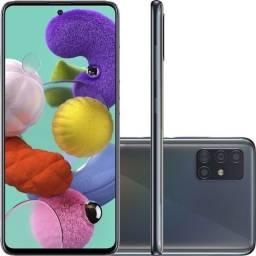 Sansung Galaxy A51- 128 GB-cinza