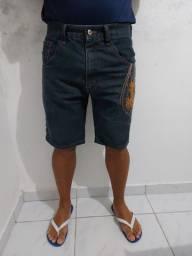 Bermuda jeans masculina M