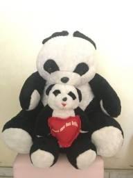 Urso de pelúcia dupla Panda
