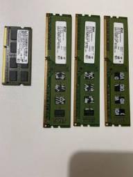 Memórias DDR3 4GB