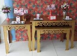 Aluguel mesas provençais para decoração