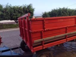 Carreta 2 eixos graneleiro 4000kg