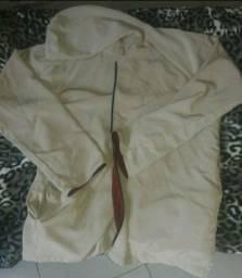 casaco jaqueta com touca