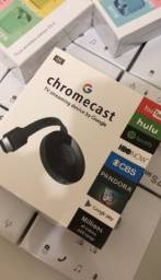 Chromecast Mirascreen novo na caixa