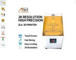 Impressora 3d Anet N4 Cor White/yellow 110v/220v Com Tecnologias De Impressão Dlp E Lcd