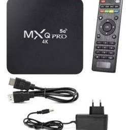 Tv box de 128 GB. Transforme sua tv normal em smart tv