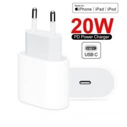 Fonte USB-C  Apple - 20W - Lacrada na caixa - Nova - Original - Nota Fiscal