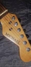Guitarra Michael Deluxe, bem conservada!