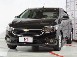 CHEVROLET ONIX LT 1.0 FLEX 4P MANUAL 6M - 2019 - PRETO